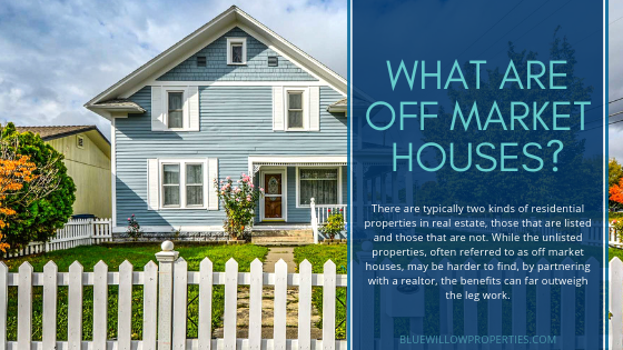 What Are Off Market Houses?